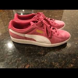 Puma Pink Sneakers Size 10